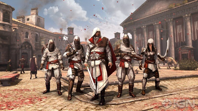 Assassin's Creed: Ezio Trilogy [Freeboot]